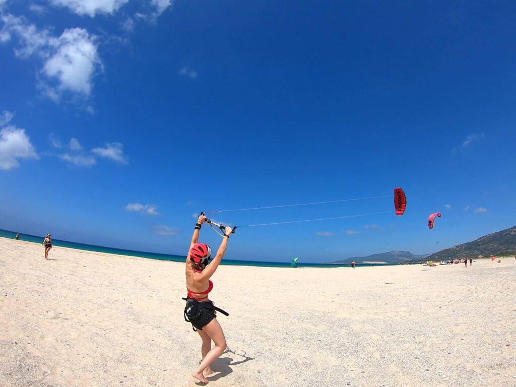 Foil kite, curso de iniciación